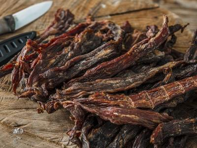 Smoked Paleo Beef Jerkey Recipe