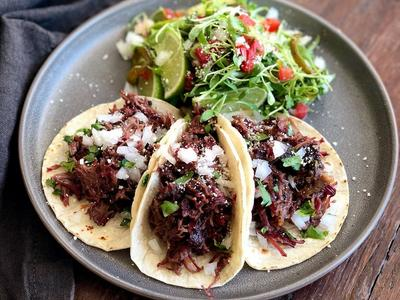 Smoked Beef Cheek Tacos Recipe