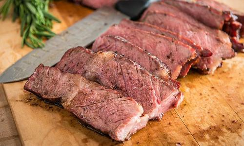 Grilled Steak for Two with Cocoa Rub