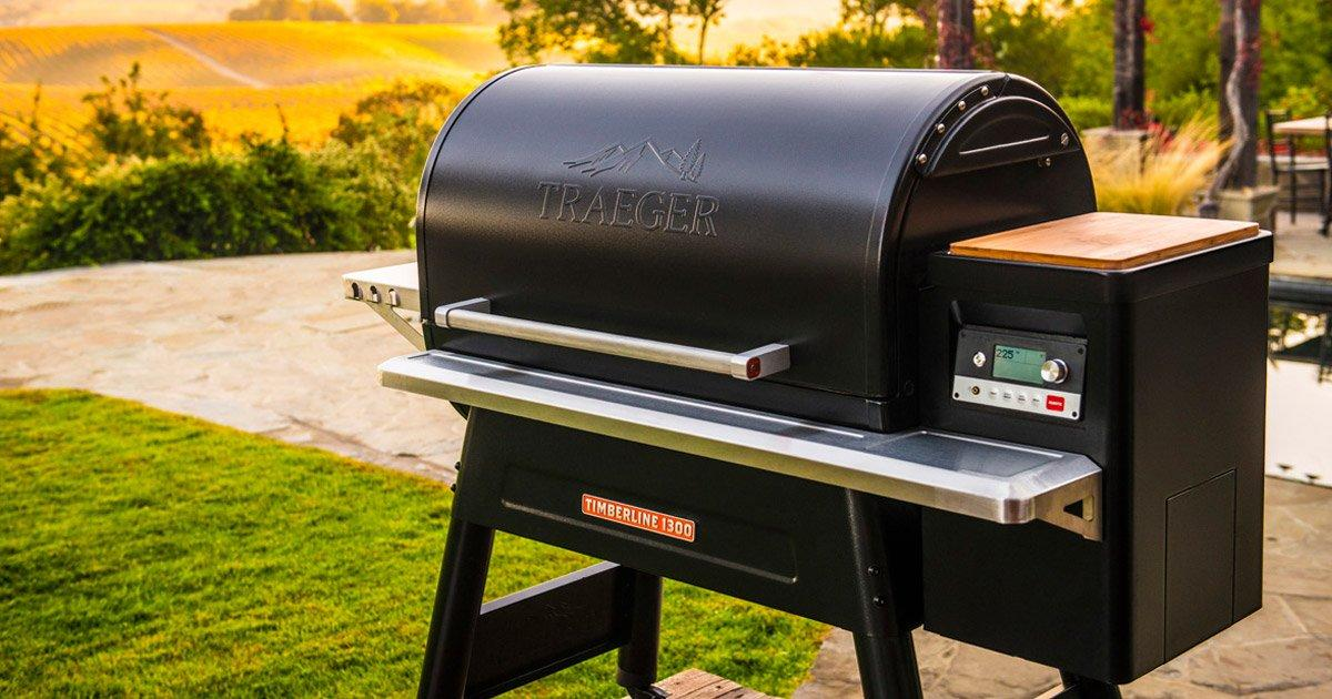 Traeger Timberline 1300 Wifi Pellet Grill Traeger Grills