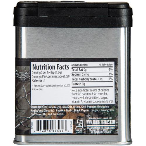traeger-big-game-rub-nutrition-info