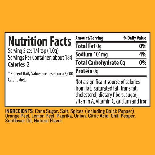 traeger-chicken-rub-nutrition-info