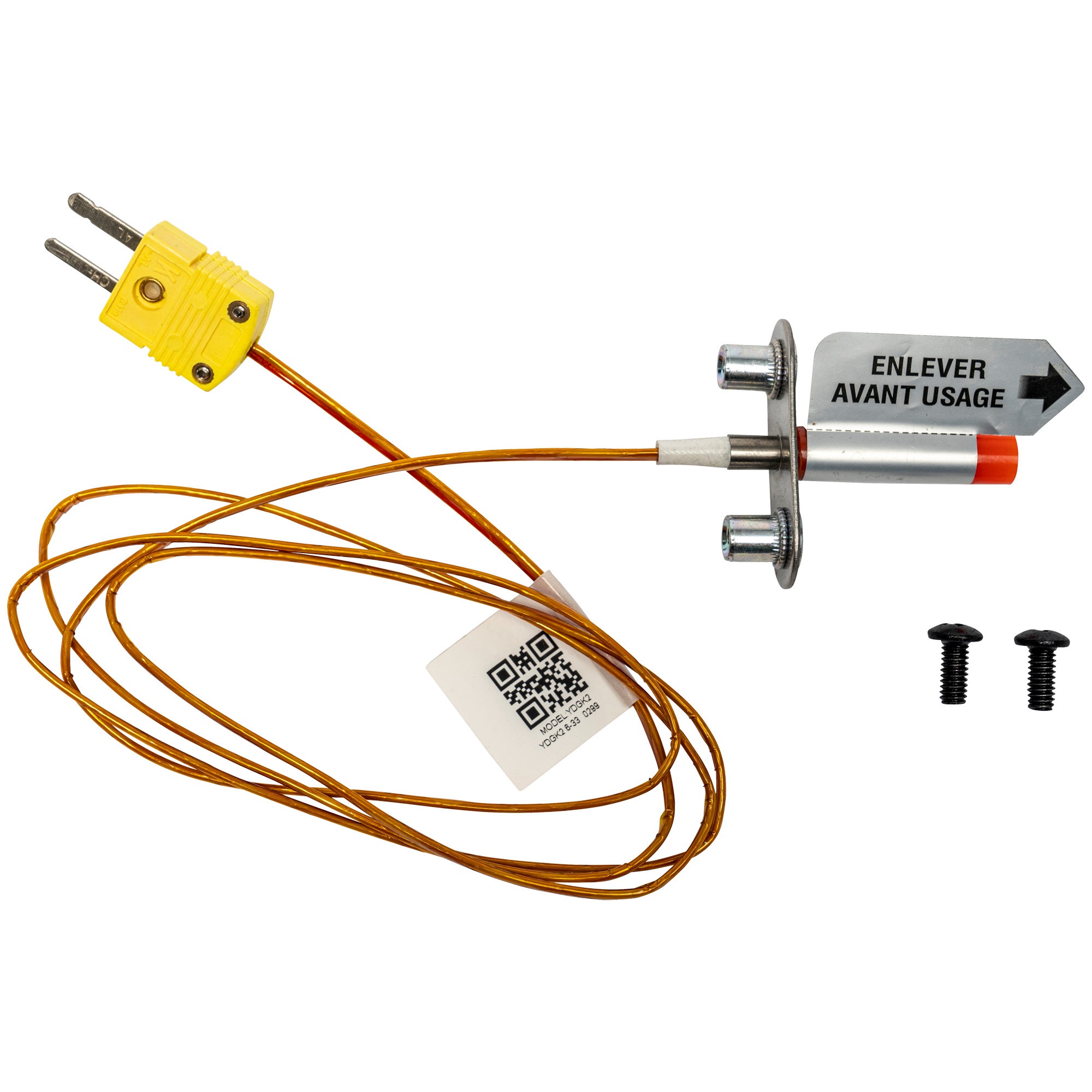 D2 THERMOCOUPLE RTD Fits D2 Pro /& Ironwood Grills KIT0422 FITS DC ONLY