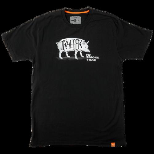 Traeger I'd Smoke That Pig T-Shirt