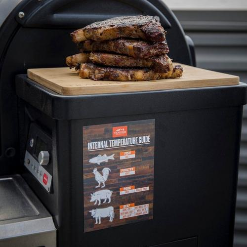traeger-internal-temperature-guide-on-grill