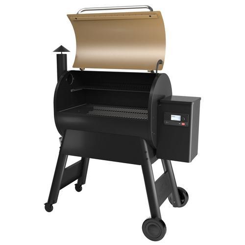 traeger-pro-series-780-pellet-grill-bronze-lid-open-right