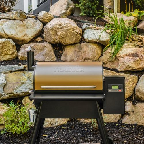 traeger-pro-series-780-pellet-grill-bronze-lifestyle-front