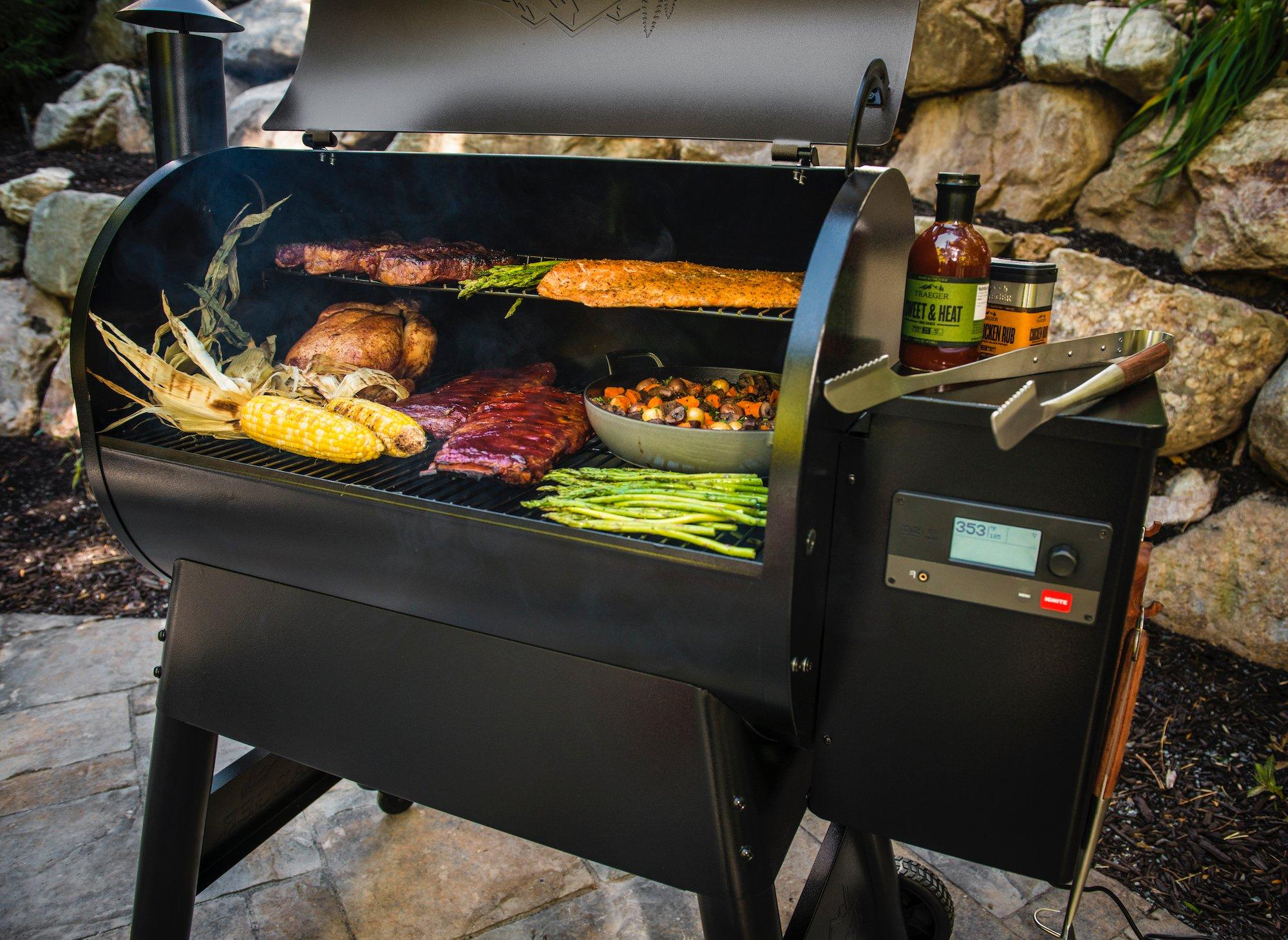 Kitchen food Smoke rack