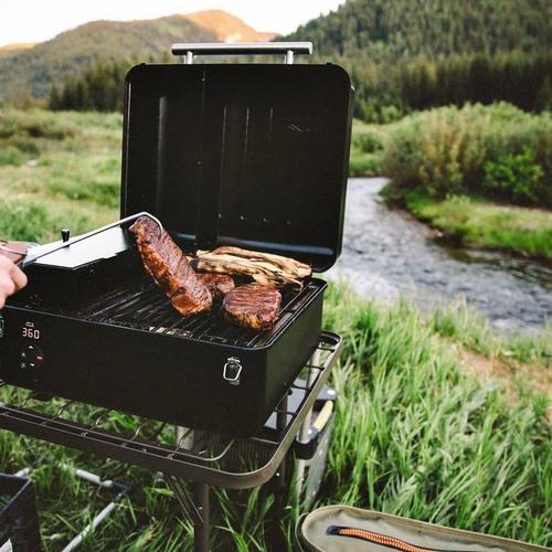 traeger-ranger-pellet-grill-lifestyle-front-angle