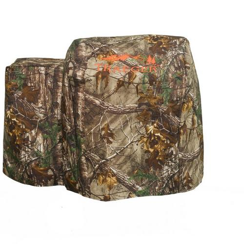 Traeger Realtree 20 Grill Cover - Full-length