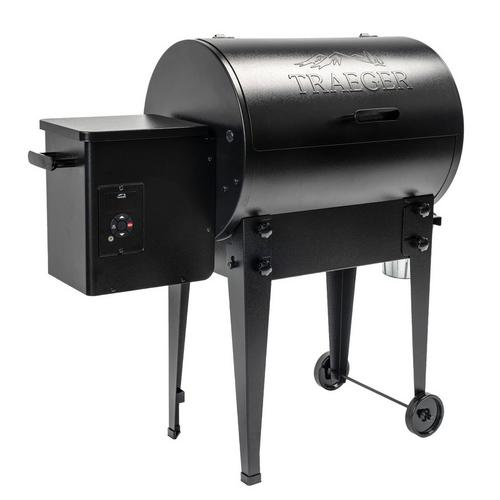 traeger-tailgater-pellet-grill-black-2020-front-angle-left