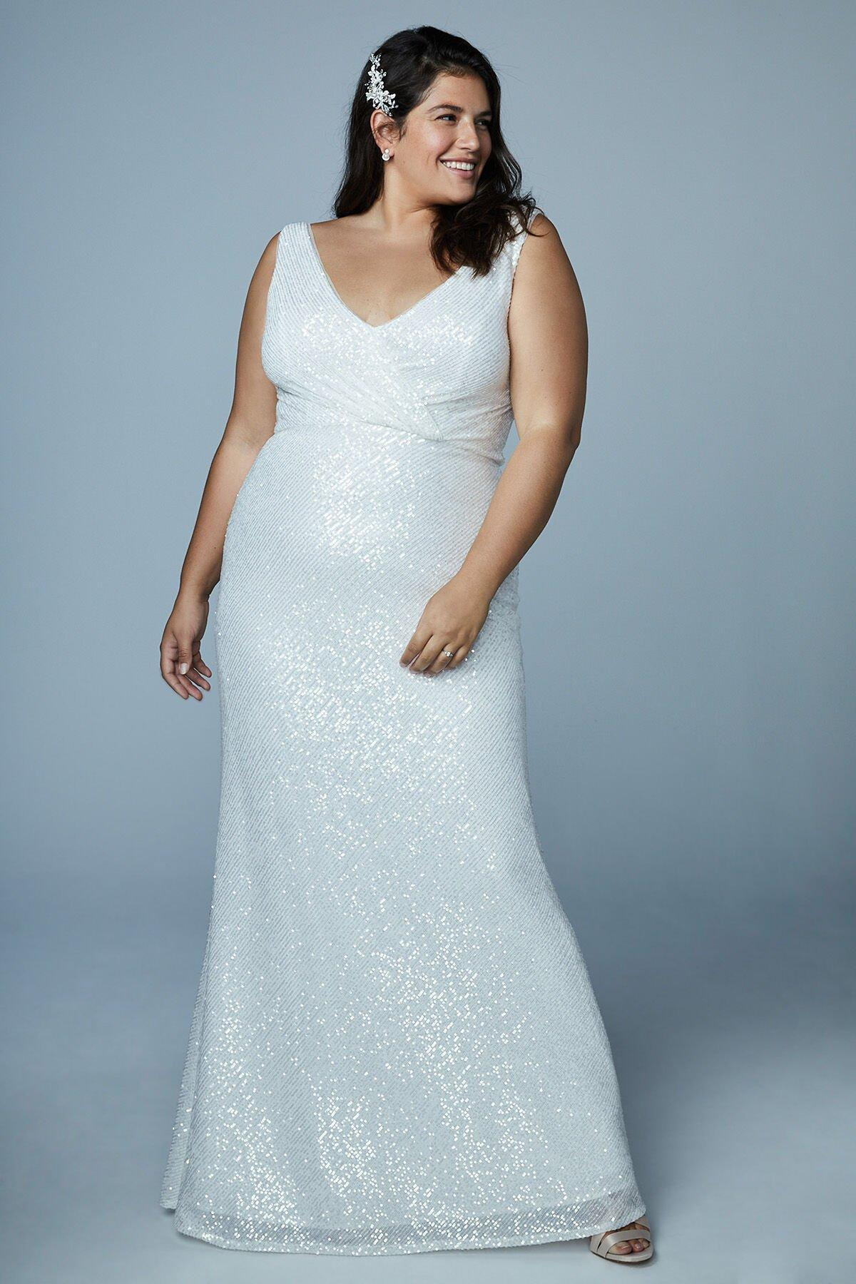 Bright Wedding Dress - Plus Size Available