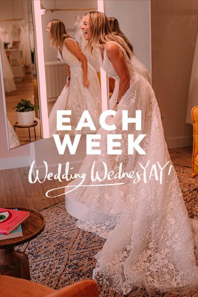 Wedding Wednesday Each Week
