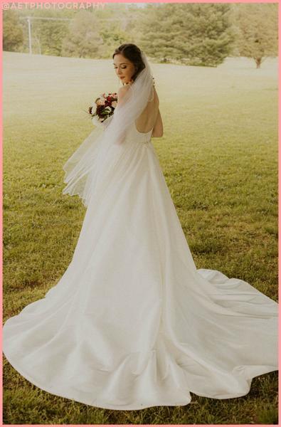 Clean and minimal wedding dresses