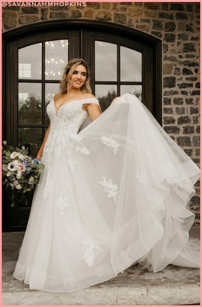 Rustic and romantic wedding dresses