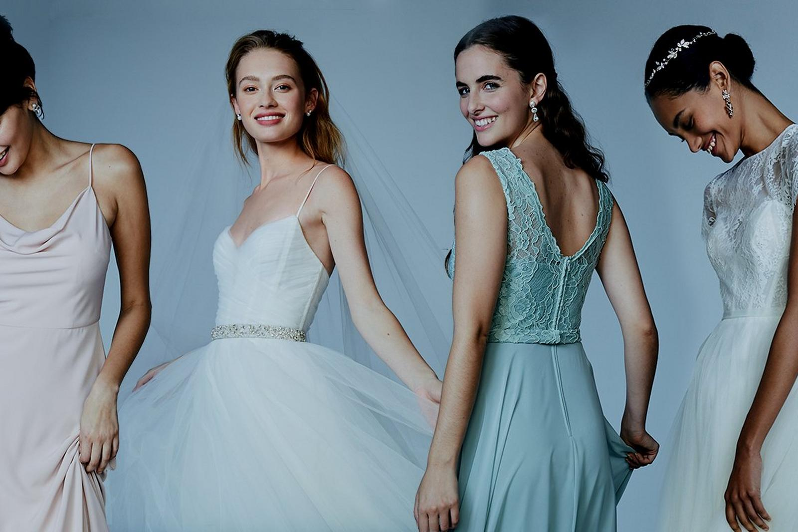 This weekend only - Take an extra 25% off Sale and $50 off all bridesmaids dresses