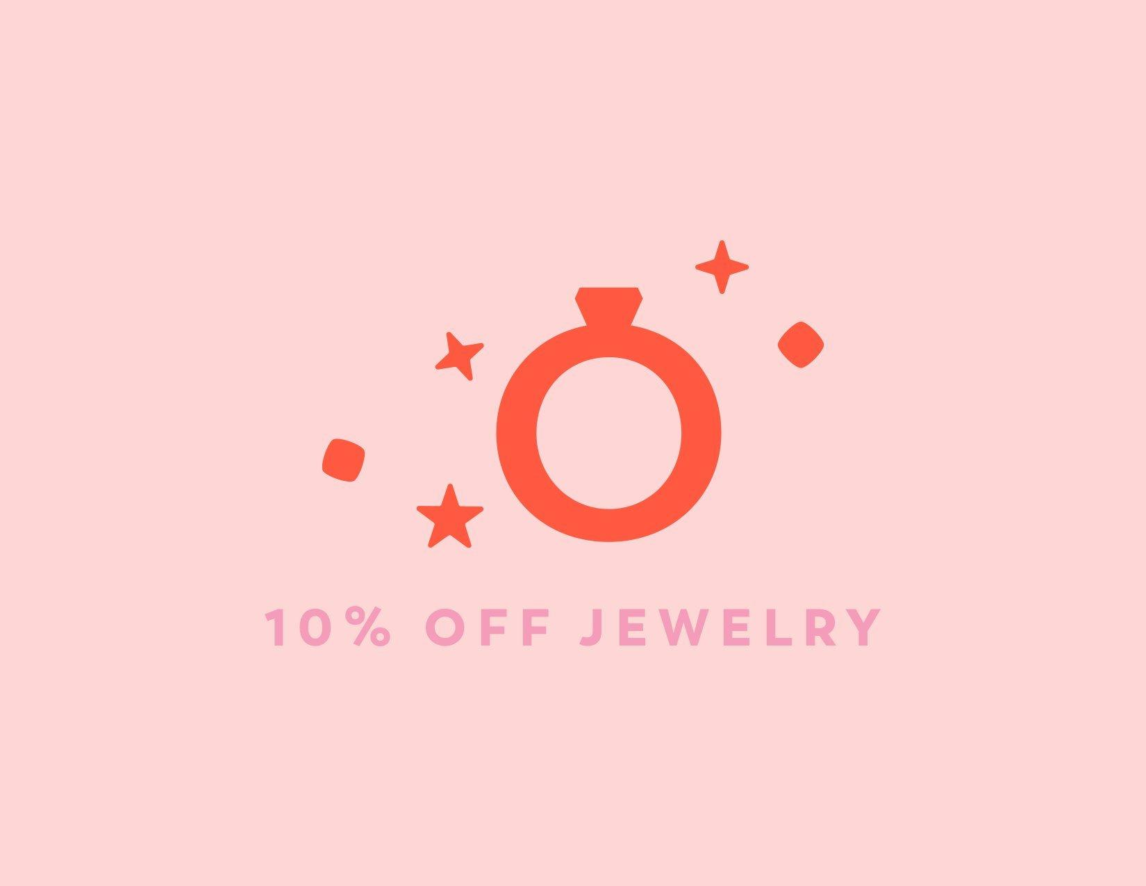 10% Off Wedding Jewelry