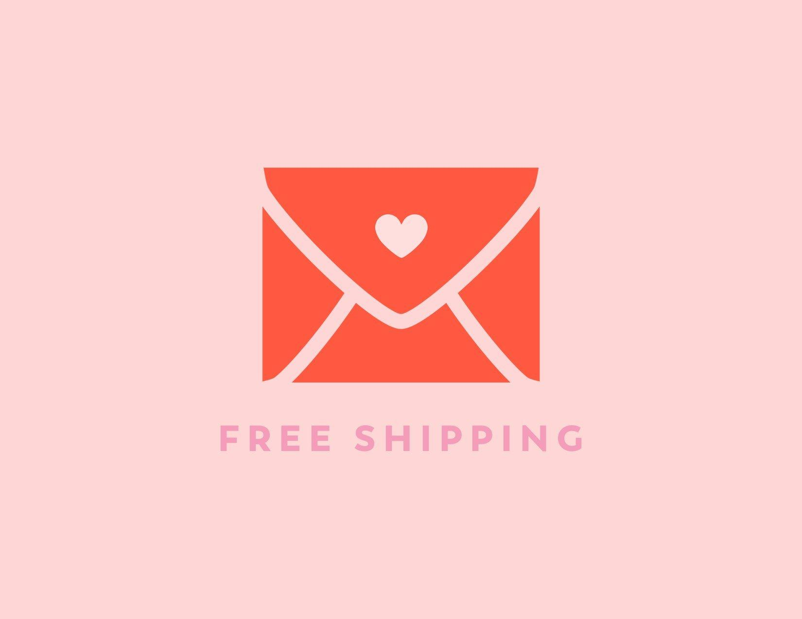 Free Shipping on all Vow'd Orders