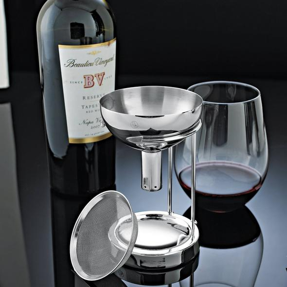Wine Enthusiast Aerating Funnel With Removable Screen And Stand Wine Enthusiast