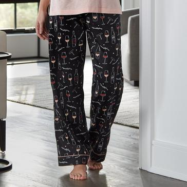 """Sip and Stay Home"" Women's Pajama Pants"