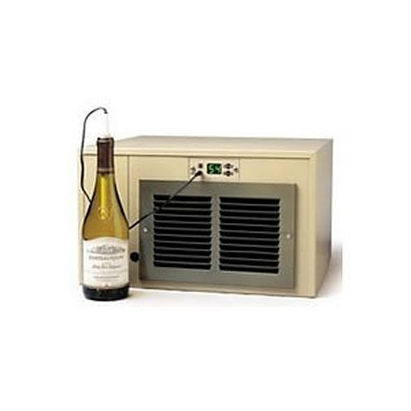 Breezaire WKCE-1060 Compact Wine Cellar Cooling Unit with Digital Temperature Display
