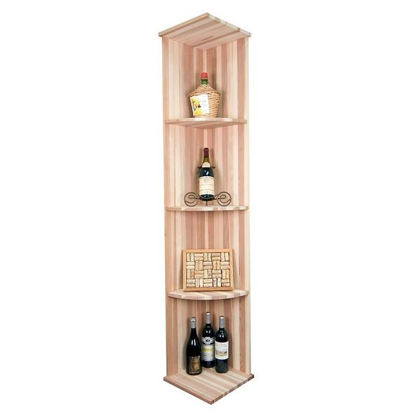 Sonoma Designer Rack - Vertical Quarter Round Shelf Rack