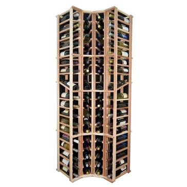 Sonoma Designer Rack-4 Column Curved Corner Rack w/Display