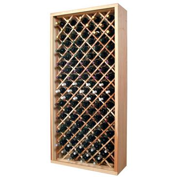 Sonoma Designer Rack-90 Bottle Ind Diamond Bin