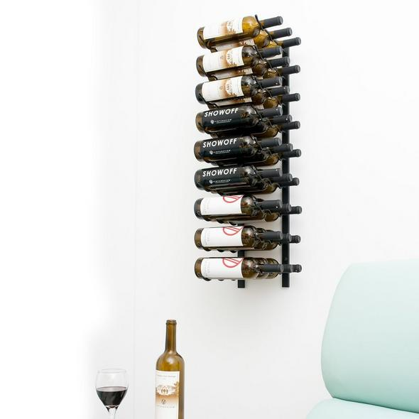 VintageView Wall Series 3 Ft Rack (27 Btl)