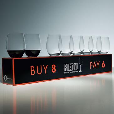 Riedel 'O' Buy 8 Pay 6 Cabernet Stemless Wine Glasses (Set of 8)