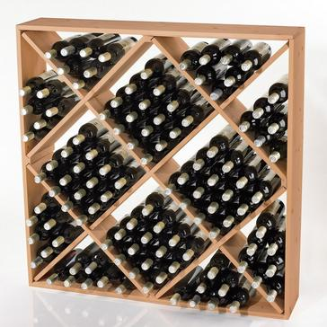 Jumbo Bin 120 Bottle Wine Rack (Natural)