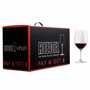 Riedel Vinum Pay 6 Get 8 Cabernet / Bordeaux (Set of 8)