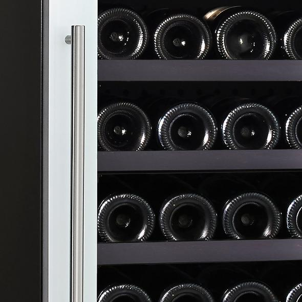 N'FINITY LXi Single Zone Wine Cellar with Steady-Temp™ Cooling (Edge-To-Edge White Glass Door)