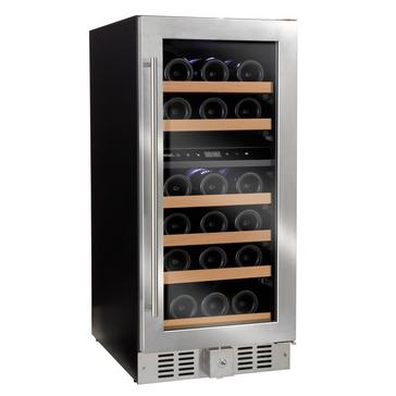 N'FINITY SD Dual Zone Wine Cellar (Stainless Steel Door)