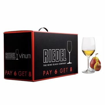 Riedel Vinum Pay 6 Get 8 Chardonnay Glasses (Set of 8)
