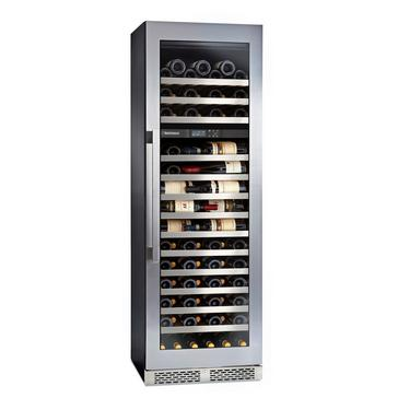 "Vinothèque Café Dual Zone 22.5"" Counter-Depth Wine Cellar with Steady-Temp™ Cooling (Stainless Steel Door)"