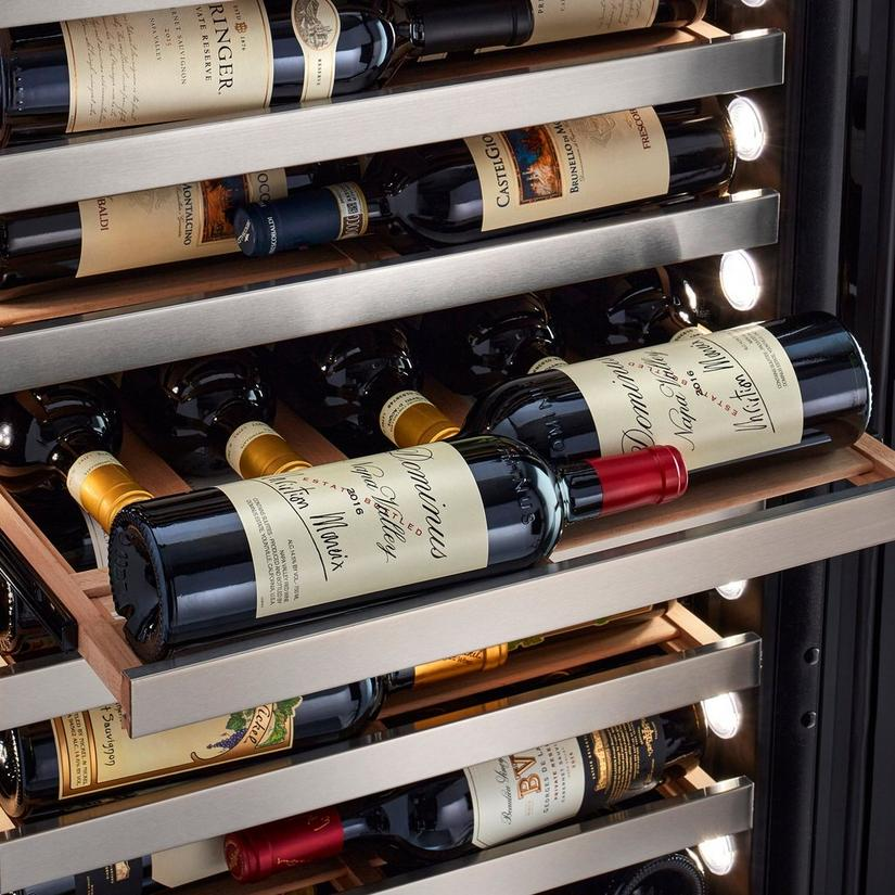 "Vinothèque Café Single Zone 22.5"" Counter-Depth Wine Cellar with Steady-Temp™ Cooling (Edge-To-Edge Glass Door)"