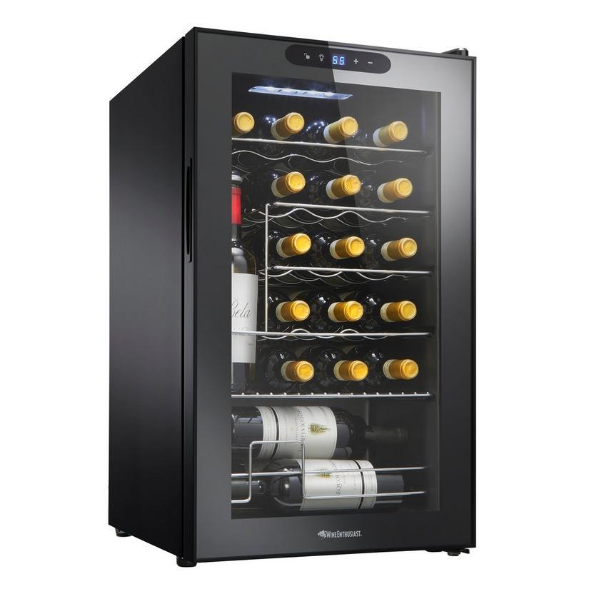 Wine Enthusiast 24 Bottle Compressor, Wine Bottle Storage For Fridge