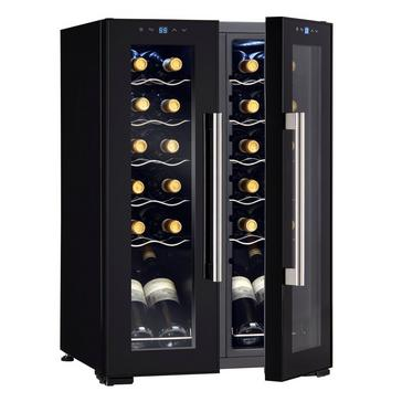Wine Enthusiast 24-Bottle French Door Dual-Zone Compressor Wine Cooler