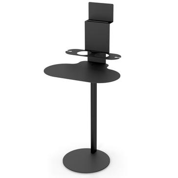 Outdoor Metal SideBar Table with Tablet Holder