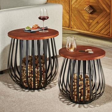 Cork Catcher Accent Table Set
