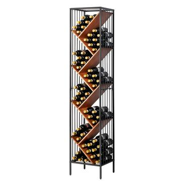 Anjou Modular Metal & Wood Wine Rack