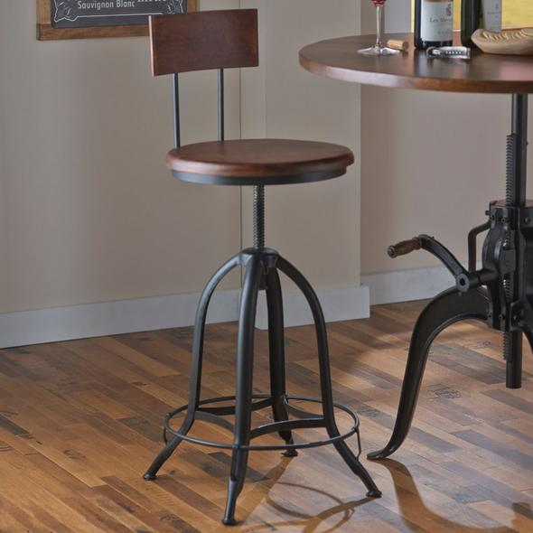 Industrial Pub Stool