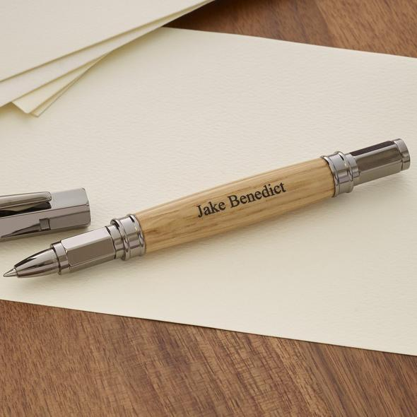 Personalized Authentic Whiskey Barrel Magnetic Cap Pen