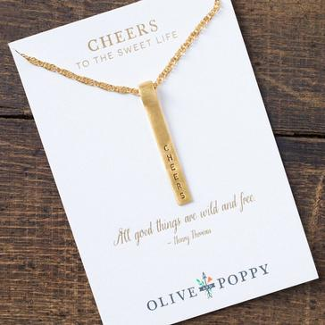 'Cheers To The Sweet Life' Necklace
