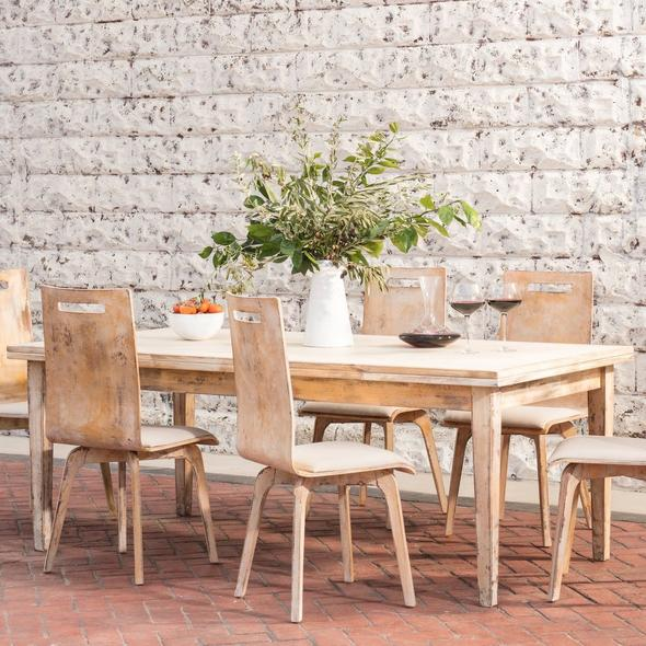 Sonora Wine-Proof Dining Table