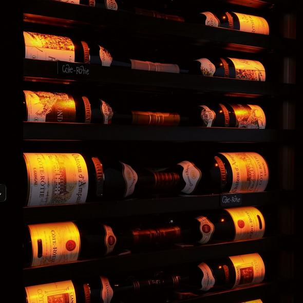 EuroCave Royale Triple Wine Cellar