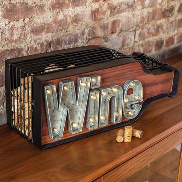 Lighted Wine Bottle Cork Catcher