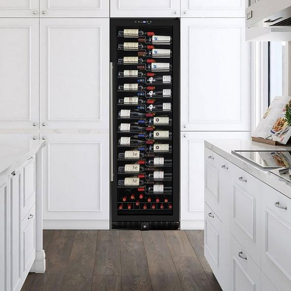 Wine Enthusiast VinoView 155-Bottle Wine Cellar