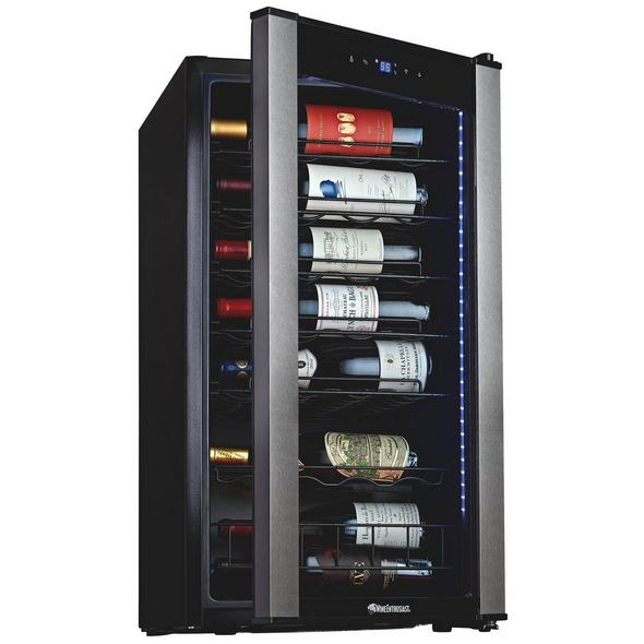 Wine Enthusiast VinoView 28-Bottle Compressor Wine Cooler